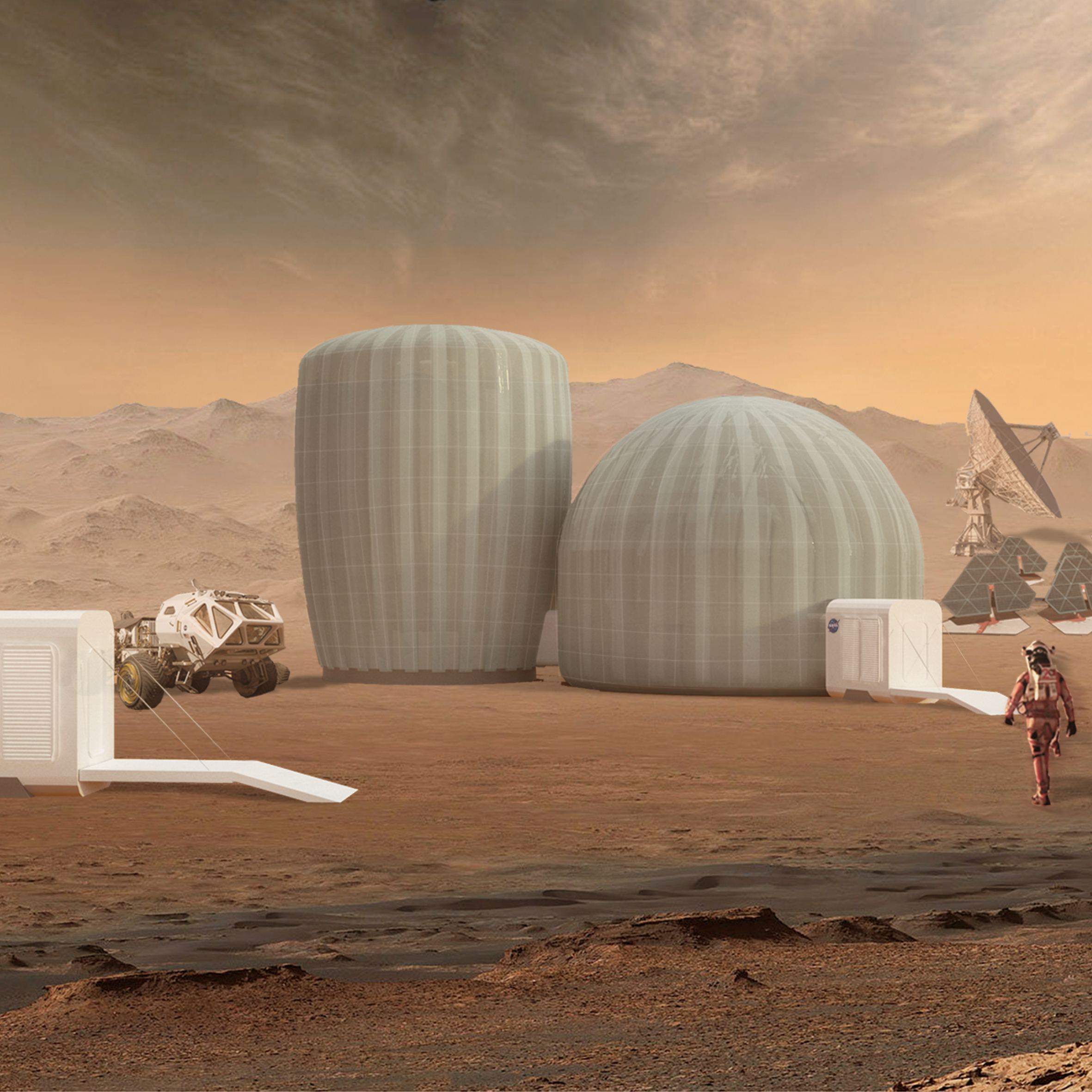 SAEXE: Space Architecture for EXtra-planetary Exploration